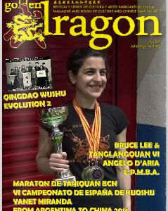 Golden Dragon Magazine 72: Articolo su Angelo D'Aria