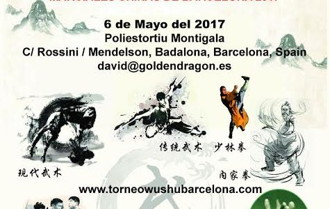 V International friendly meeting of chinese martial arts Barcellona 2017