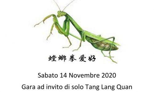 Gara di Tang Lang Quan 14 novembre 2020